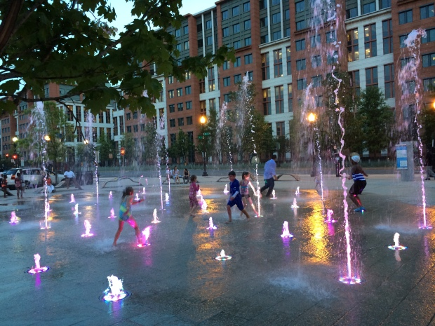 Splash Zone at Navy Yard!