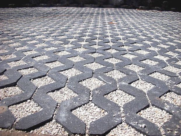 Lattice Pavers